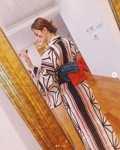 ダレノガレ明美の「色っぽいうなじ&涼しげな浴衣姿」にうっとり