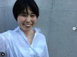 尼神インター・誠子、ショートヘアに大胆イメチェン! 高橋愛も「似合ってる」