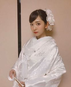 鈴木愛理「世界一かわいいお嫁さん」白無垢姿が美しすぎる