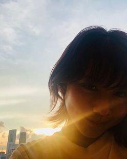 """有村架純の""""夕日よりまぶしい笑顔""""にうっとり"""