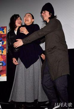 岩井俊二監督の突然のハグに、蒼井優が絶叫拒否「ヤダー!」
