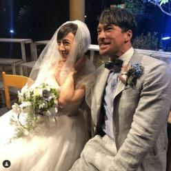 滝川クリステル、ウエディングドレス姿披露! 結婚式でまさかのハプニング?