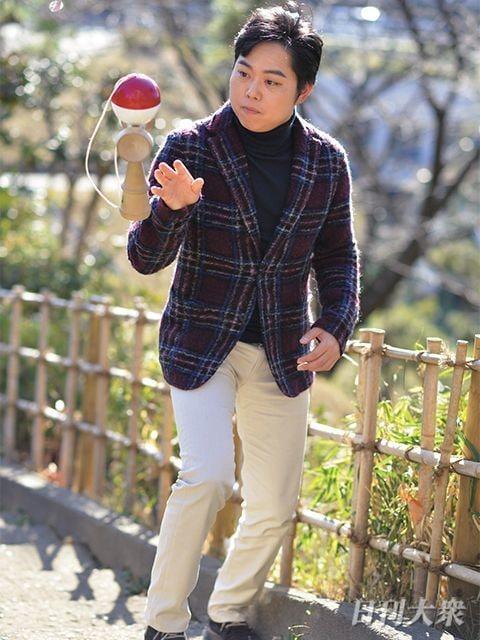 三山ひろし(演歌歌手)「紅白では、歌よりけん玉のほうが緊張しました ...