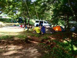 「ヤマボクグリーンサイト」でヤマとボクのファミリーキャンプ <長野県高山村>