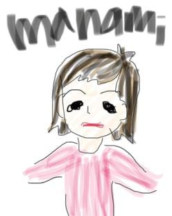 戸田恵梨香画伯が描いた親友・比嘉愛未の似顔絵が話題に