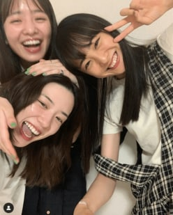 永野芽郁&大友花恋&横田真悠の仲良しショットに「ずきゅーん」「爆かわ」の声