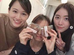 新婚・篠田麻里子の自宅に、前田敦子&松井珠理奈がやってきた!