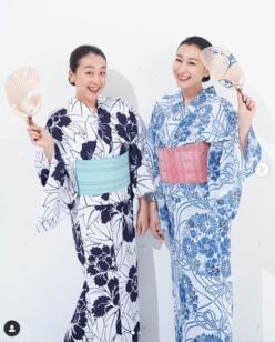 浅田真央&浅田舞、涼しげな浴衣2ショットに「麗しい」の声