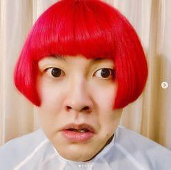 ぺえ新髪型「完全に草間彌生さん」ファンからは「デッカチャン」似との声も