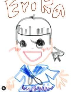 戸田恵梨香、比嘉愛未作の似顔絵に「笑い死ぬ」