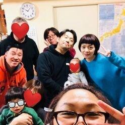 岡田義徳&田畑智子夫妻とスギちゃんがホムパ! 意外な交友関係を明かす