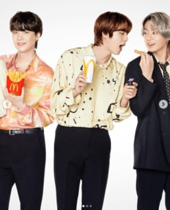 """BTSの""""マックコラボ""""日本スルーで大炎上も「kemioがマジ神」「最高すぎ」の声!"""