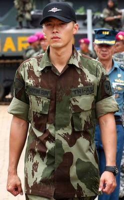 ヒョンビン、ソン・ジュンギ、パク・ボゴム「軍服が似合う韓国俳優」TOP3ランキング(画像全5枚)