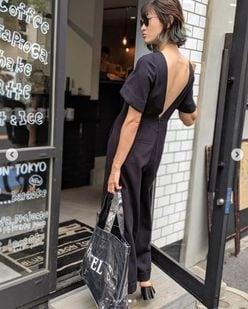 """山田優、""""背中ばっくり""""の刺激的ファッションに黒木メイサも反応"""