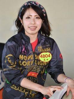 若き美女レーサー高田ひかるが、トランポリンの体幹トレーニングと熱心な練習量で優勝を狙う!