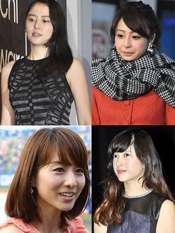 長澤まさみVS岡副麻希ほか「芸能美女VS女子アナ」艶々五番勝負