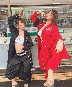 清水あいり「セクシー上等、夜露死苦」森咲智美とレディース姿に!