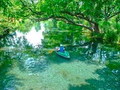 コンパクトな川に魅力がギュッ!「夏でも下れる」湧水の世界<万水川&犀川編>【ユーコンカワイの股旅リバログ vol.10】