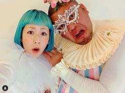 木村カエラ、野性爆弾くっきーとの異色コラボに反響「カオス感パない!」