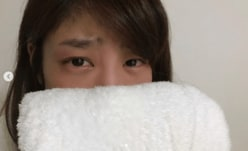 """岡副麻希、""""どすっぴんの泣き顔""""にファン困惑「どうしたの?」"""