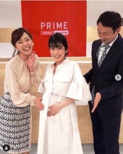 """生野陽子アナ、""""ふっくらお腹""""で幸せいっぱいの笑顔"""