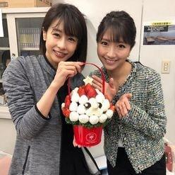 加藤綾子アナ&三田友梨佳アナの「仲良し2ショット」をファン絶賛