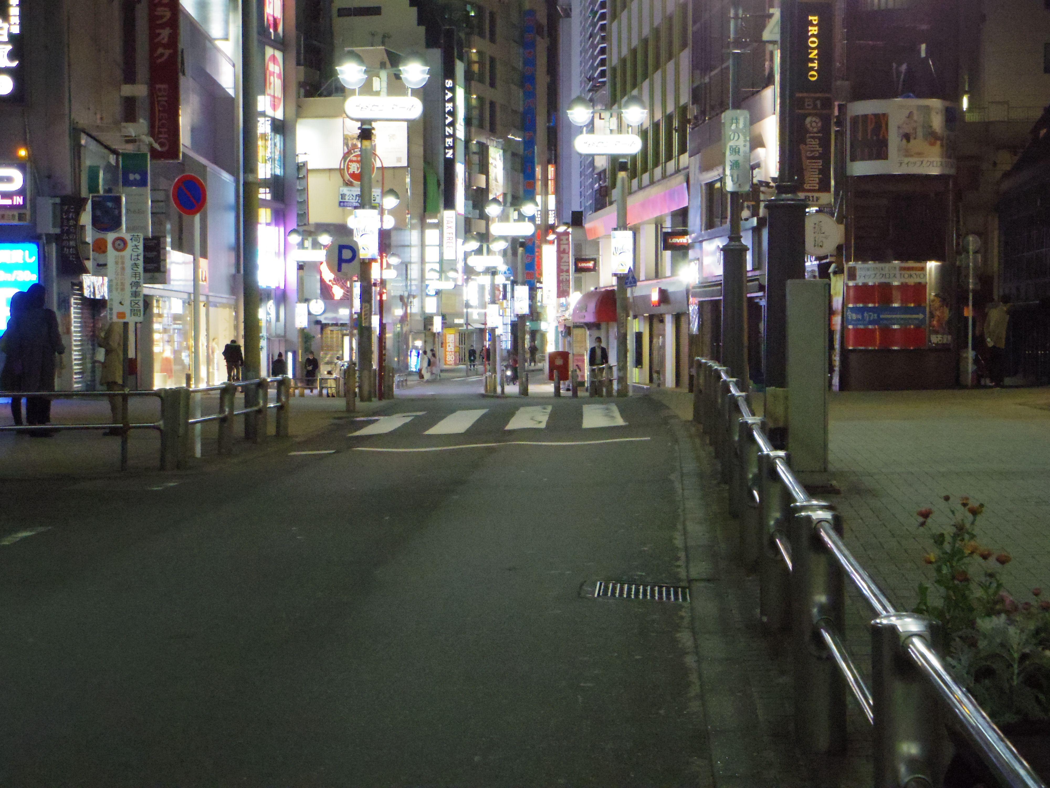 緊急事態宣言発令中「東京の夜の街を歩いてみた」【新宿・渋谷の動画】の画像009