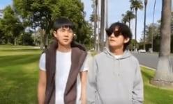 """「BTS」Vとも…アカデミー賞『パラサイト』の""""イケメン""""豪華な交遊録!"""