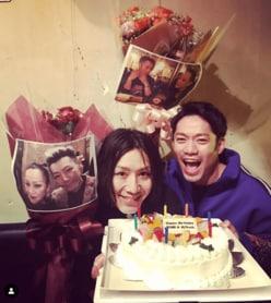 """高橋大輔、""""親友""""と33歳バースデーを祝う"""