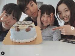 """本田紗来、兄・太一の誕生日を""""縦読み""""で祝福!「ハグしてくれるの嬉しい」"""