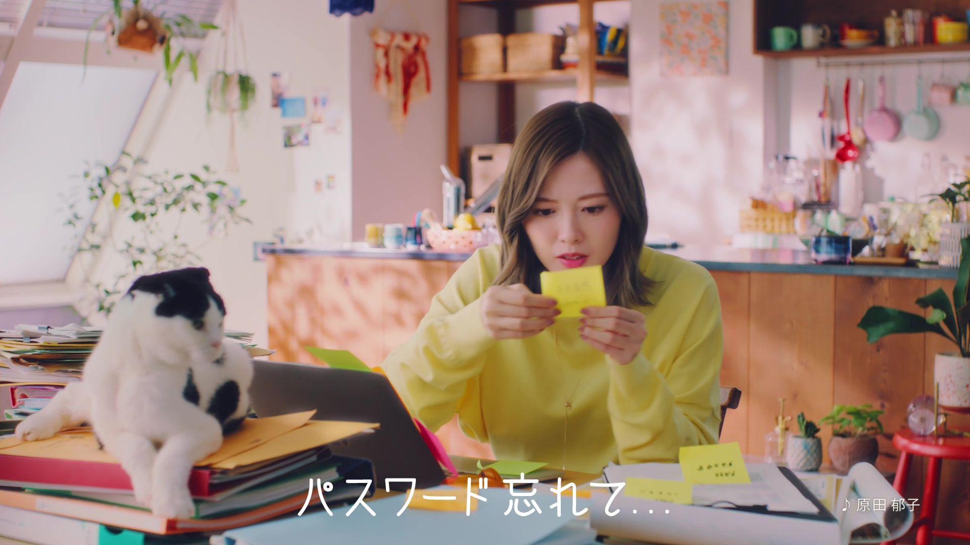 元乃木坂46白石麻衣「パスワード忘れちゃった!」新CM動画が公開!【画像17枚】の画像003