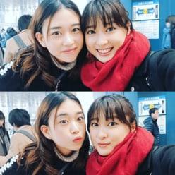 """土屋太鳳&森川葵、偶然の""""人狼ゲーム2ショット""""に反響「姉妹みたい」"""