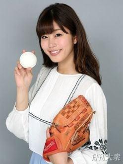 稲村亜美「目標は、プロ野球12球団の始球式を制覇すること!!」ズバリ本音で美女トーク