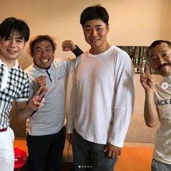 日ハム・清宮幸太郎選手の貴重なプライベートショットに反響! ノブコブ吉村がバッタリ遭遇
