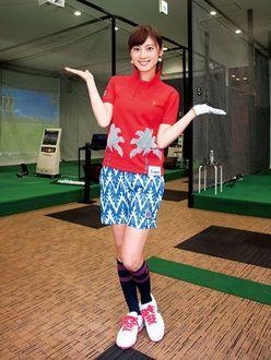 女優・原史奈が「スコアアップを目指して通いたい」ニュースタイルのゴルフスクールとは?