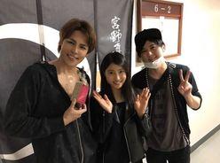 土屋太鳳、人気声優・宮野真守&梶裕貴との3ショットに「羨ましい!」