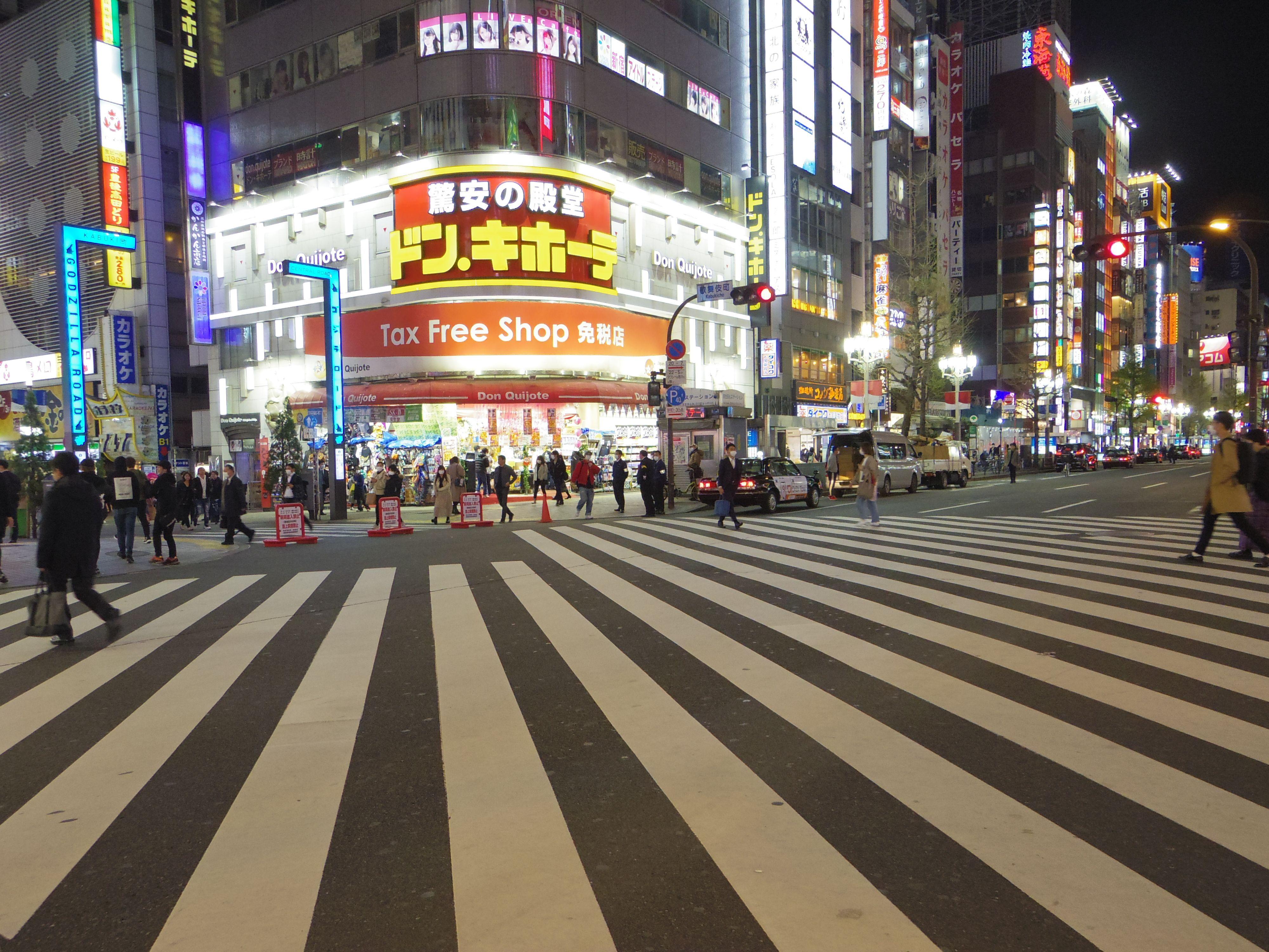 緊急事態宣言発令中「東京の夜の街を歩いてみた」【新宿・渋谷の動画】の画像005