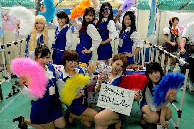 『武道館アイドル博2017』で、飲みドル「8∞カンパニー」が大奮闘!の画像001