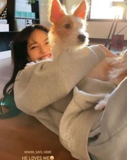 BLACKPINK・ロゼの保護犬は「赤西仁、中川大志と並ぶ」スター性!?