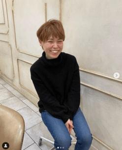 尼神インター誠子、金髪で劇的イメチェン!「IWGPのキングに憧れて」
