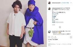 千鳥『映画ドラクエ』コスプレに「まさかの佐藤健」とファン失笑