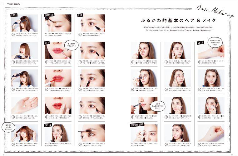 『#てんこもりフルカワ 古川優香スタイルブック Make&Fashion』(KADOKAWA)より
