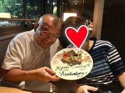 笑福亭鶴瓶、愛妻とツーショット!結婚45周年に祝福の嵐