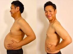 18キロ減に成功!!はんにゃ川島の「3分で完成『だしキャベツサラダ』」【最強だしパックダイエットレシピ】