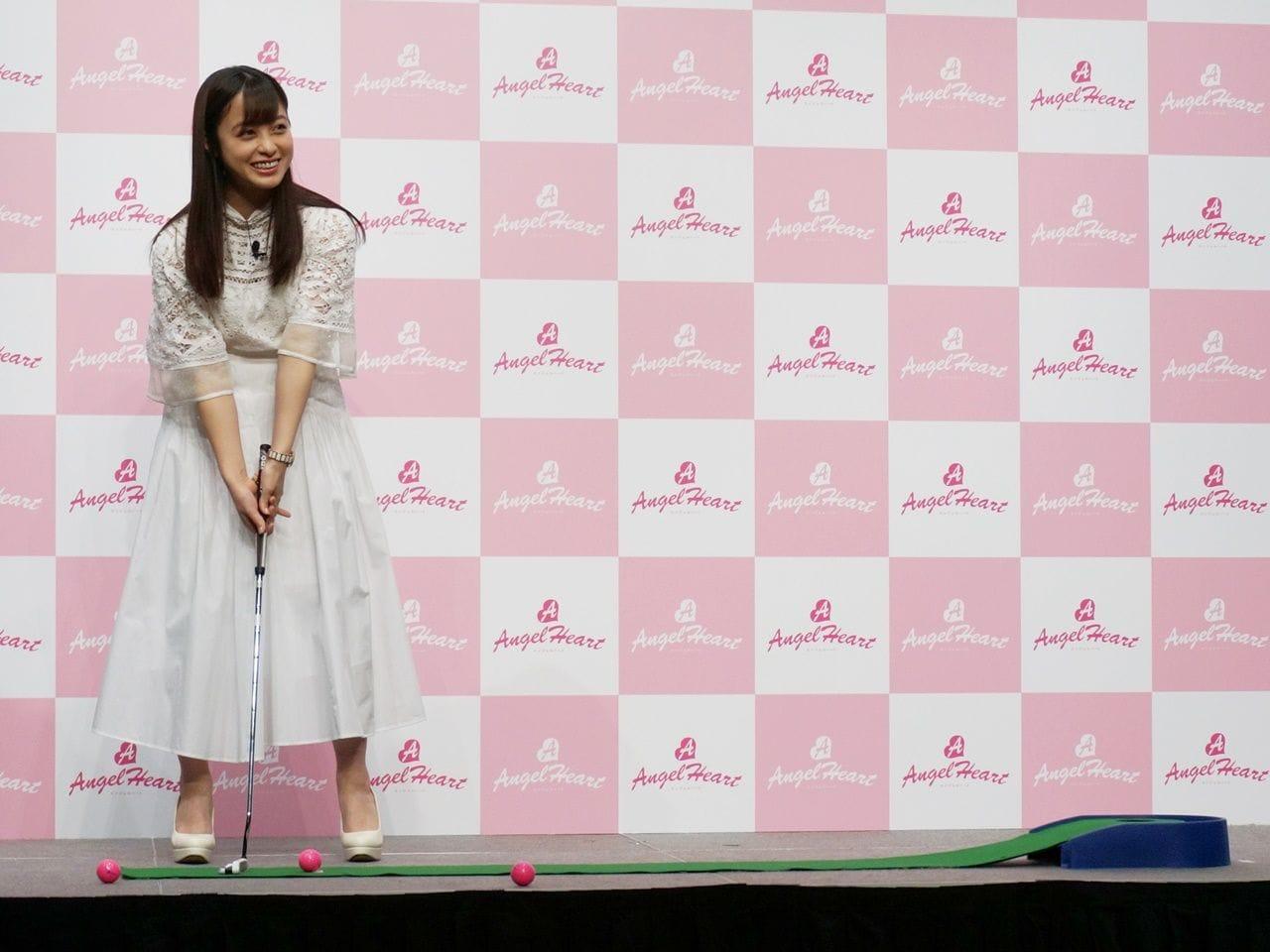 """大人気女優・橋本環奈が""""天使すぎるパターゴルフ""""に挑戦!その結果は!?の画像004"""