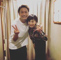 『スマステ』コンビ復活!? 香取慎吾&大下容子アナの2ショットにファン感激!