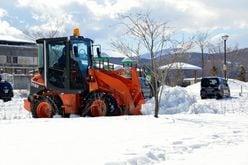 タカラジェンヌが、除雪車を運転!?「特技は縦列駐車」の超異色トップスター