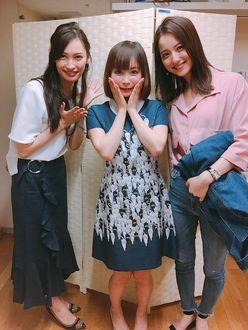 中川翔子、佐々木希&大政絢との「美女3ショット写真」が話題に