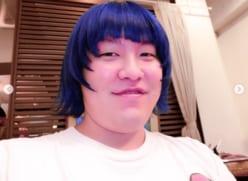"""激太りしたあいみょん!?ぺえの""""青髪イメチェン""""に衝撃"""