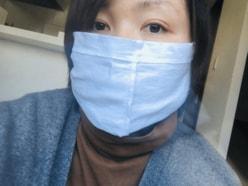 """尼神・誠子、""""ブリーフみたい""""な手作りマスクに「やばい」「その手があったか」の声"""